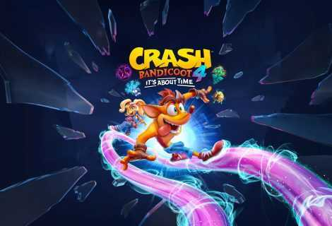 Crash Bandicoot 4: It's About Time, ecco il trailer di lancio