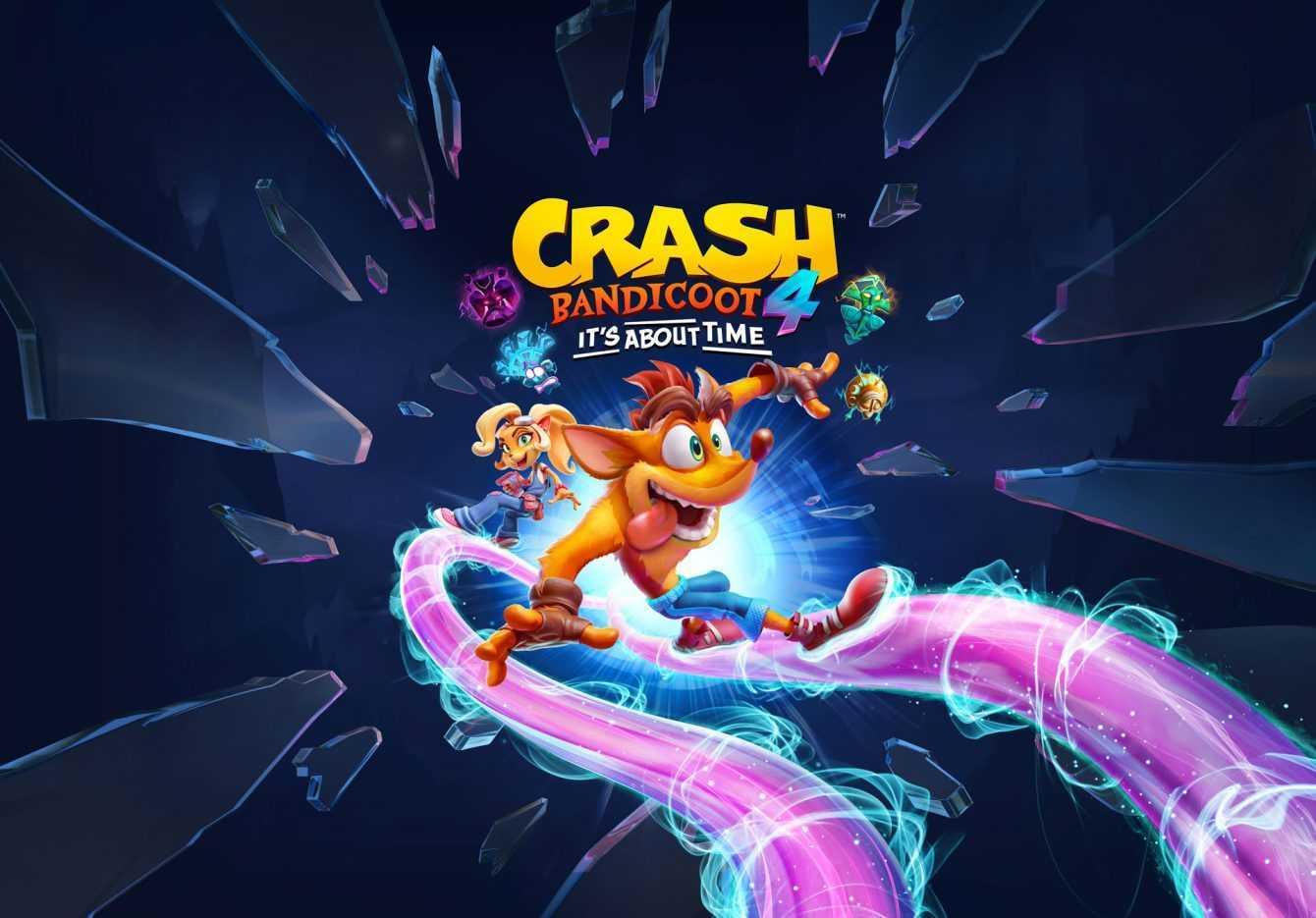 Crash Bandicoot 4: It's About Time, disponibile il trailer di lancio