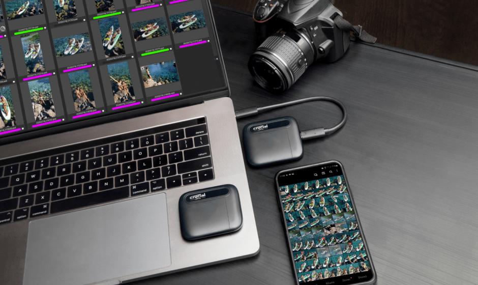 Crucial: gli SSD portatili X6 raggiungono le dimensioni di 4TB!