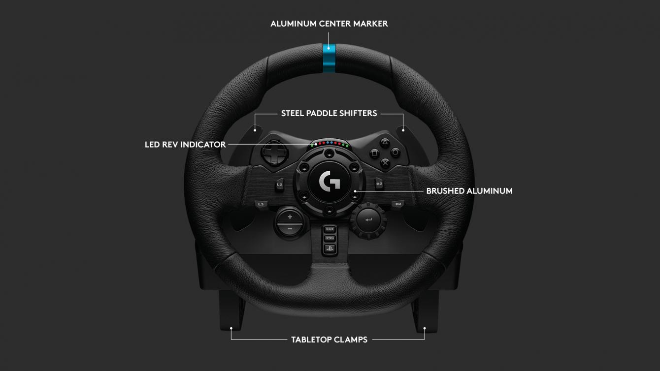 Volante Racing Logitech G923: velocità e adrenalina su tutti i terreni