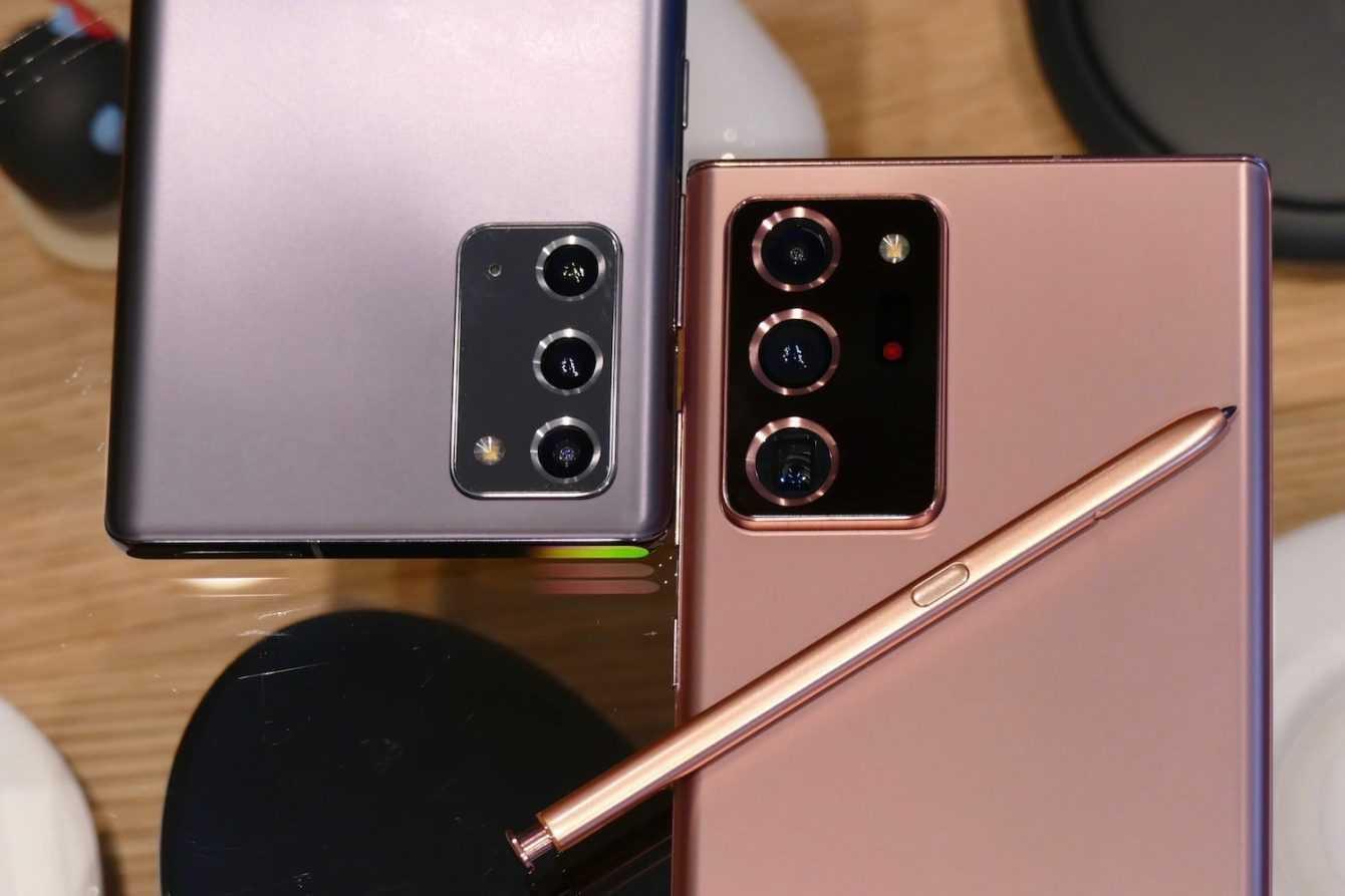 Galaxy Note 20 e Note 20 Ultra: caratteristiche tecniche, prezzi, disponibilità