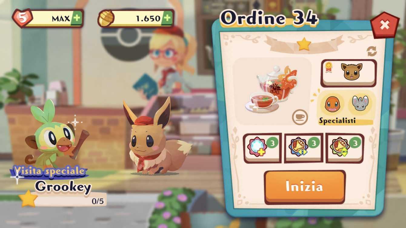 Pokémon Café Mix: raggiunti i 5 milioni di download