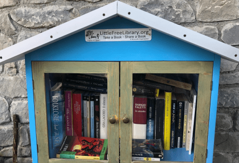 Little free library | La biblioteca di quartiere