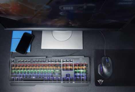 Trust GXT 877 Scarr: ecco la nuova tastiera meccanica top di gamma