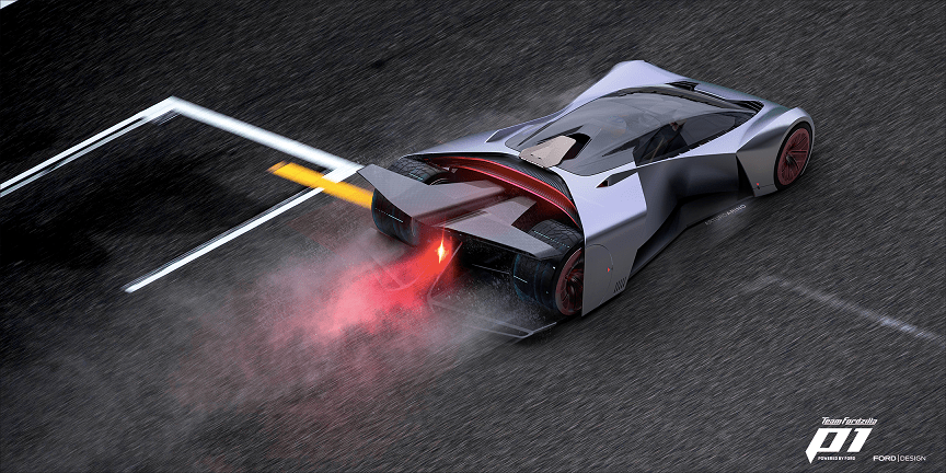 TeamFordzillaP1: nasce la racing car virtuale creata da Ford e i giocatori