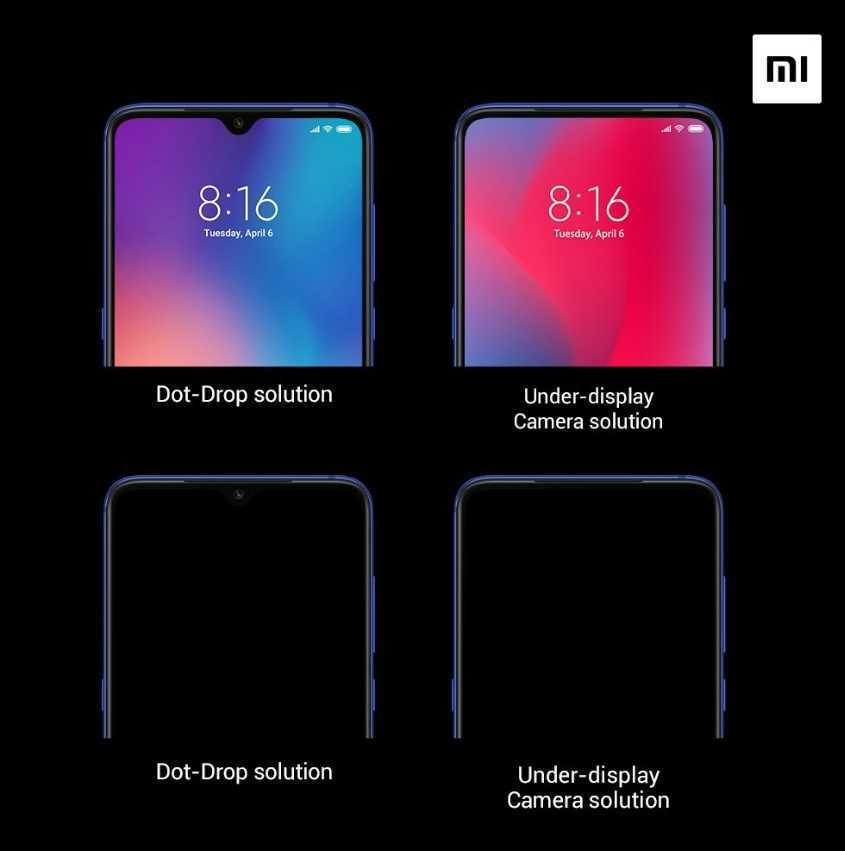 Xiaomi: ecco la tecnologia di terza generazione dell'under-display camera
