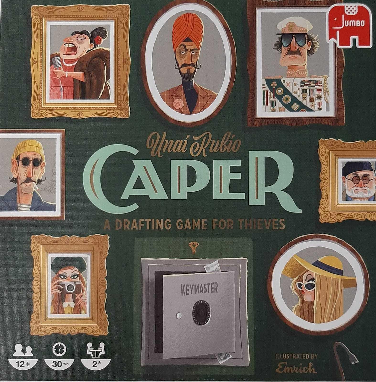 Recensione Caper: in questo mondo di ladri