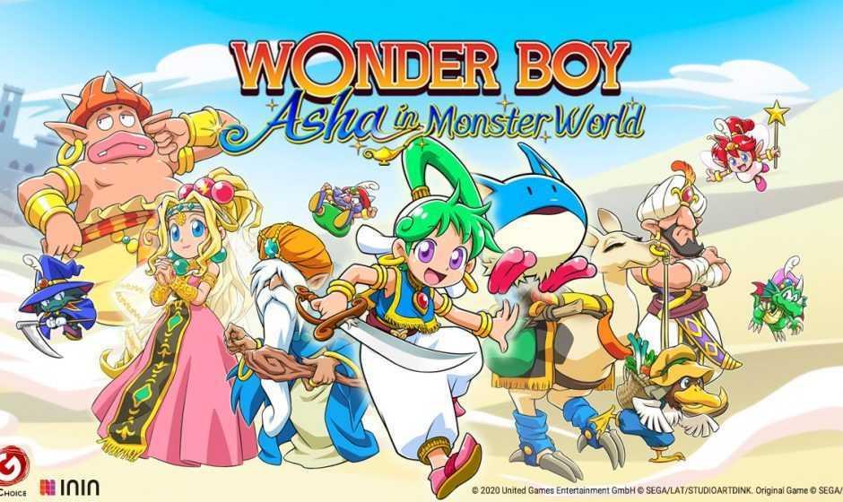 Wonder Boy: Asha in Monster World, ecco il gameplay trailer!