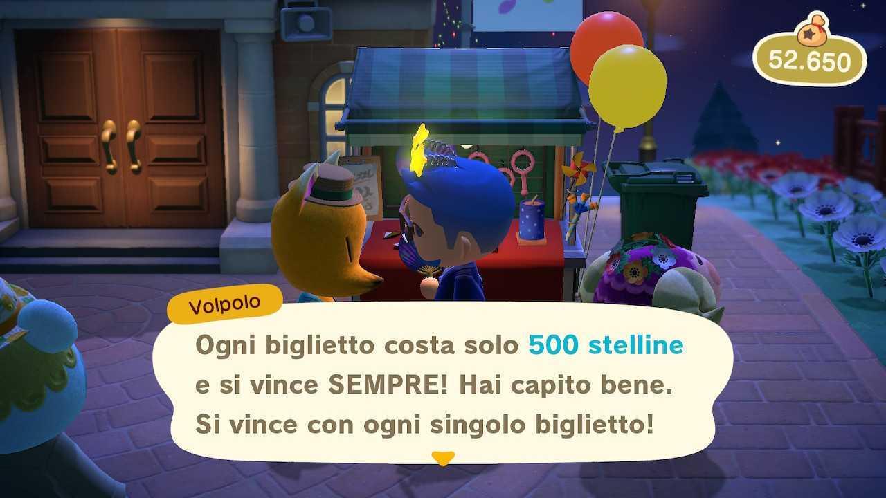 Animal Crossing: New Horizons, guida alla lotteria di Volpolo
