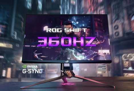 ROG Swift 360Hz PG259QN: presentato il monitor gaming più veloce al mondo