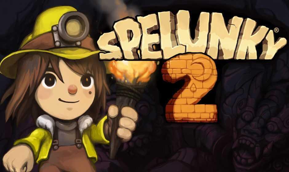 Spelunky 2: disponibile da oggi su PS4