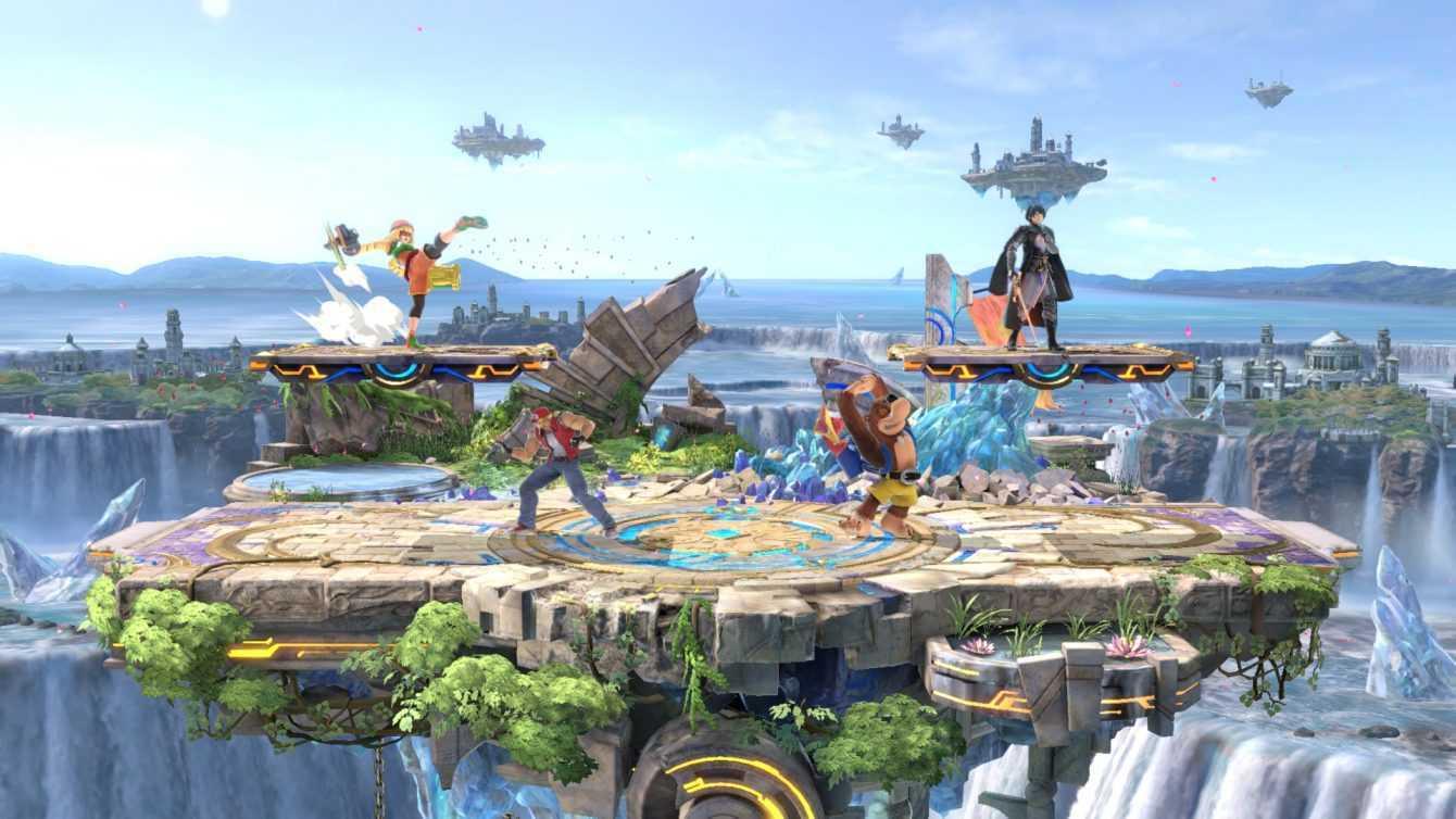 """Super Smash Bros Ultimate: la patch 8.1.0 aggiunge lo scenario """"Le Rovine XS"""""""