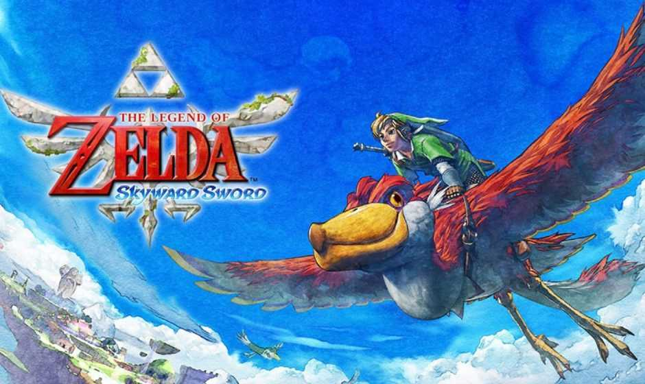 The Legend of Zelda Skyward Sword : migliorati i motion controller per Switch