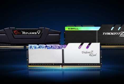 G.SKILL DDR4-4000 CL16 e DDR4-4400 CL16: RAM per gaming e creator