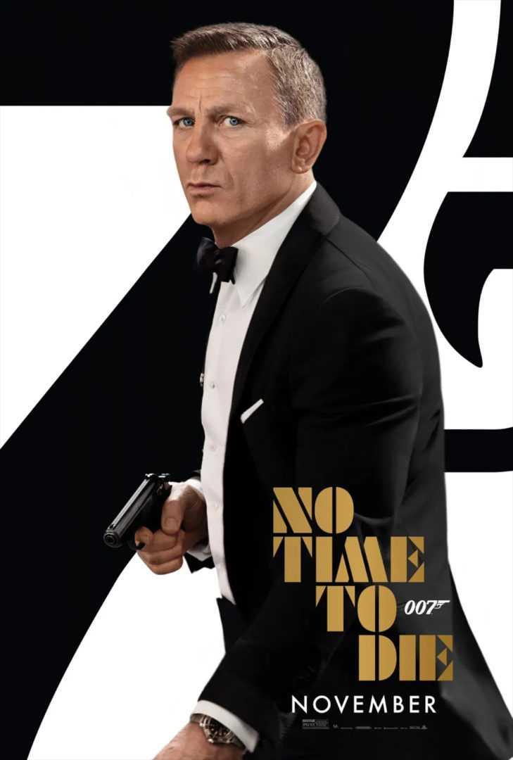 No time to die: ecco il nuovo poster ufficiale