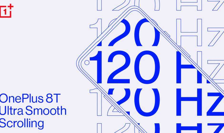 OnePlus 8T: confermato il display Fluid a 120Hz