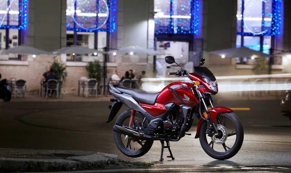 Ecco la nuova entry level da 125cc HONDA CB125F 2021