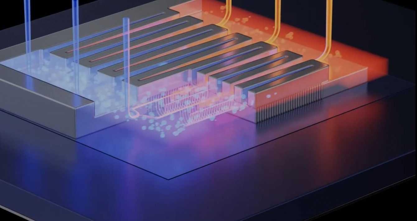 Transistor raffreddati a liquido: dissipatori addio?