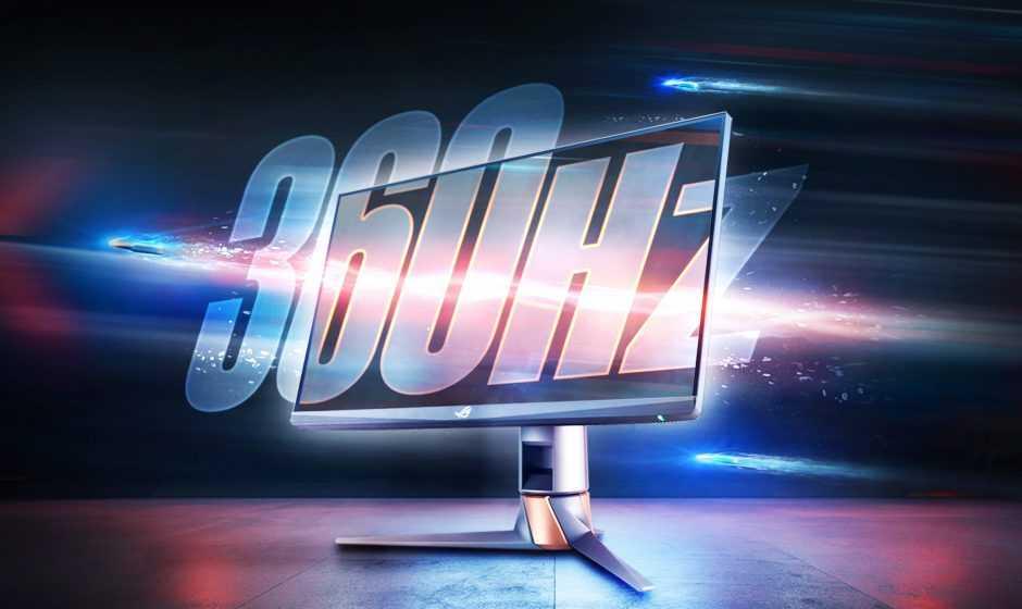 ASUS ROG Swift 360Hz: il monitor gaming più veloce al mondo