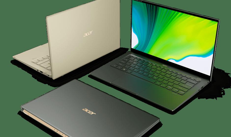 Acer: arrivano i notebook Swift 3 e Swift 5 con Intel Evo