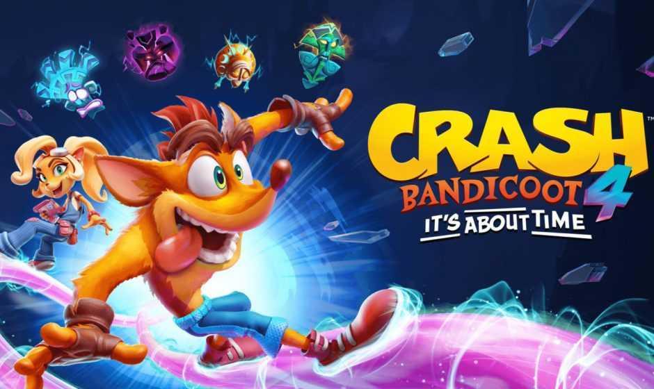 Crash Bandicoot 4: It's About Time, la lista dei livelli