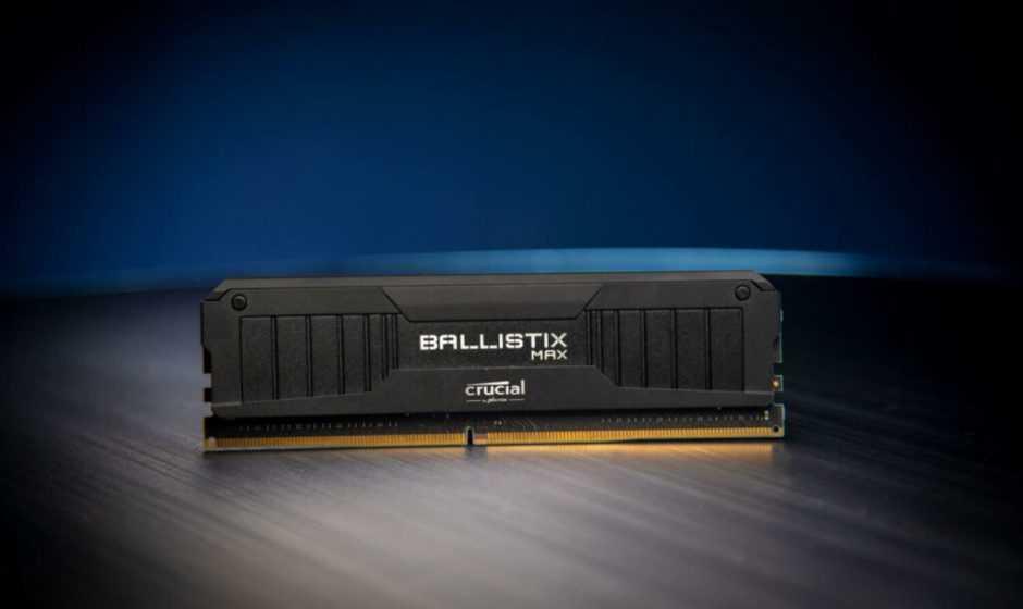 Crucial: le nuove RAM Ballistix MAX 5100 sono da record