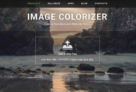 Recensione Image Colorizer: colorare le foto in bianco e nero