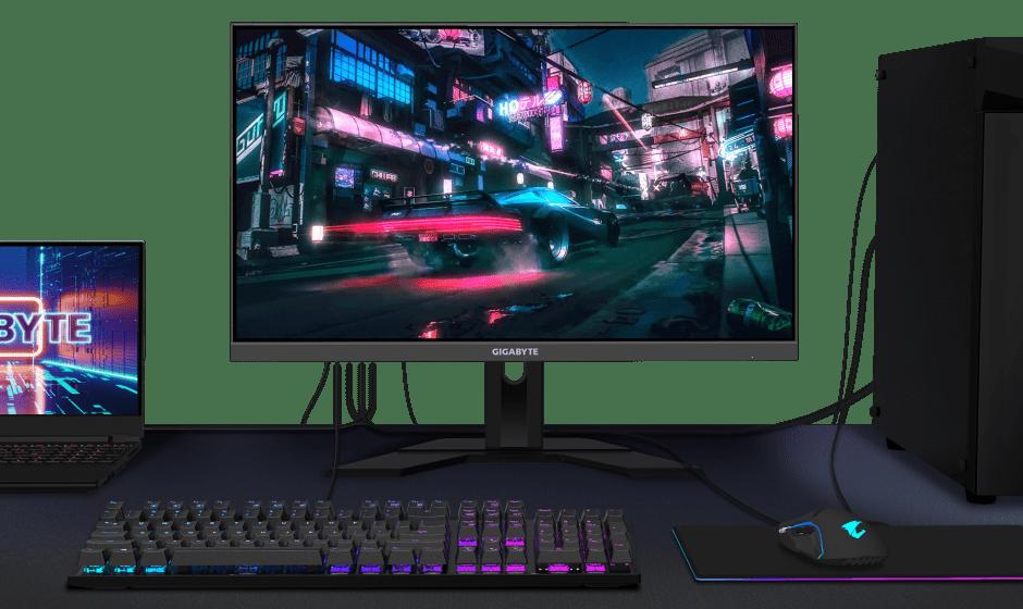GIGABYTE: annunciata la nuova serie di Gaming Monitor con KVM integrato