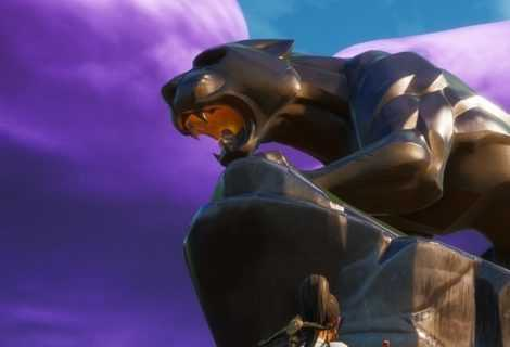 Fortnite: una statua per omaggiare Black Panther