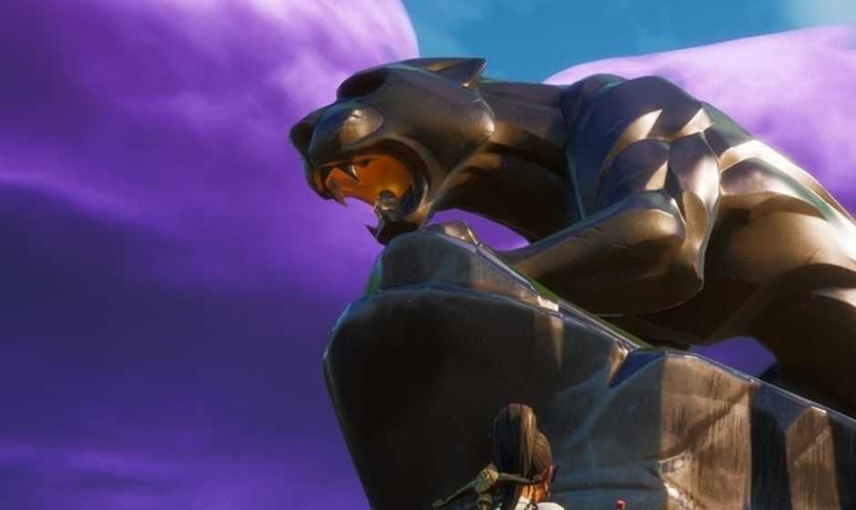 Fortnite: una statua per omaggiare Black Panther