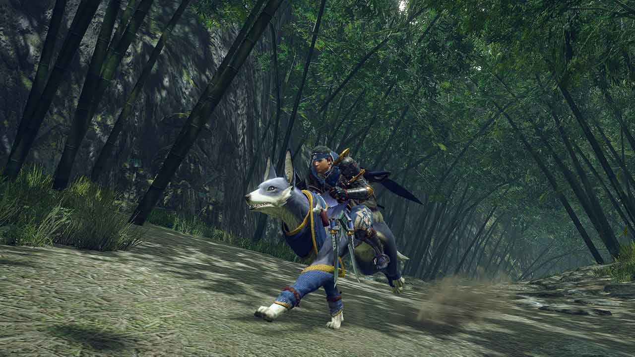 Monster Hunter Rise: il titolo sfrutta il RE Engine