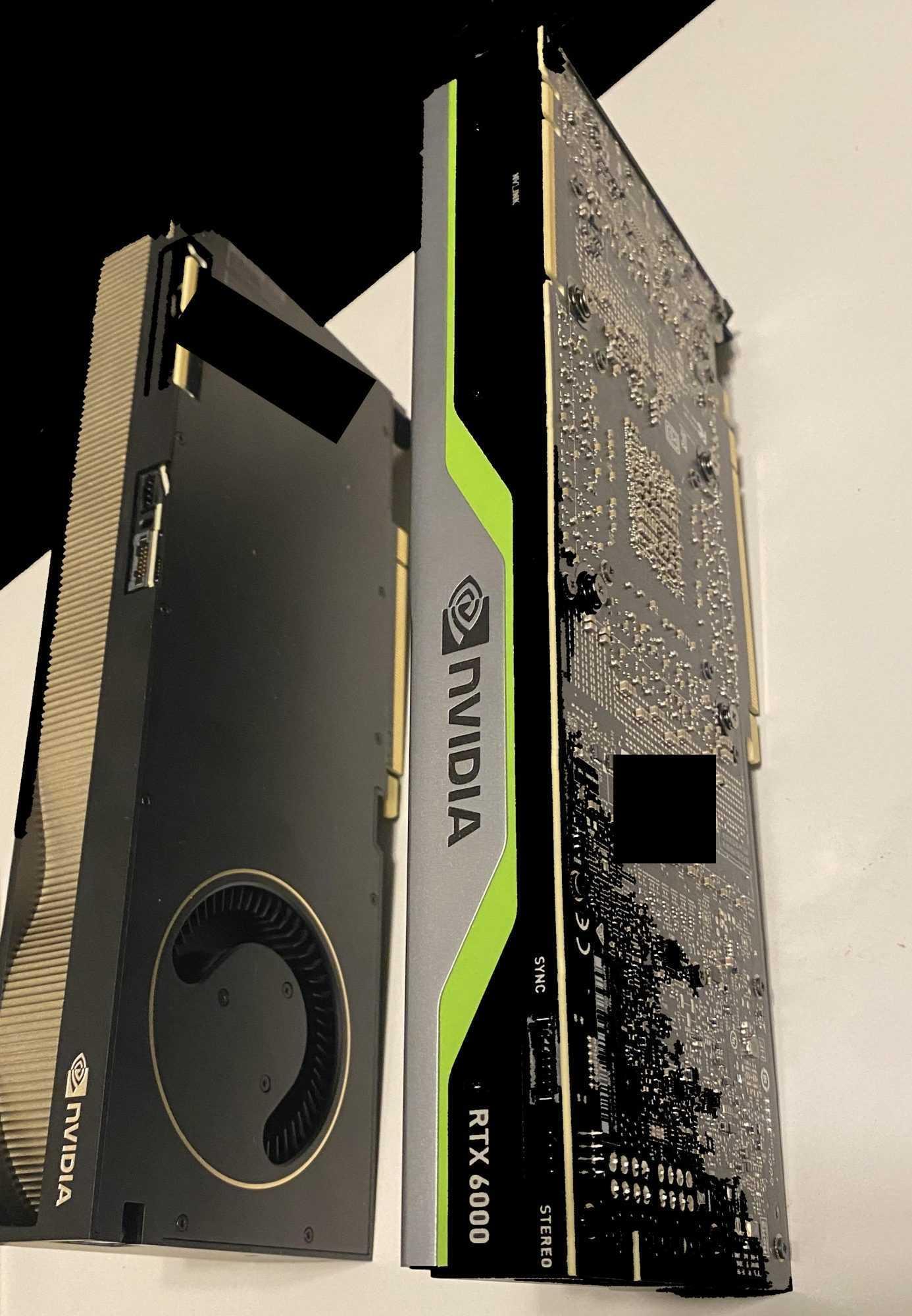 NVIDIA: trapelati online foto e dettagli della Quadro RTX (A)6000