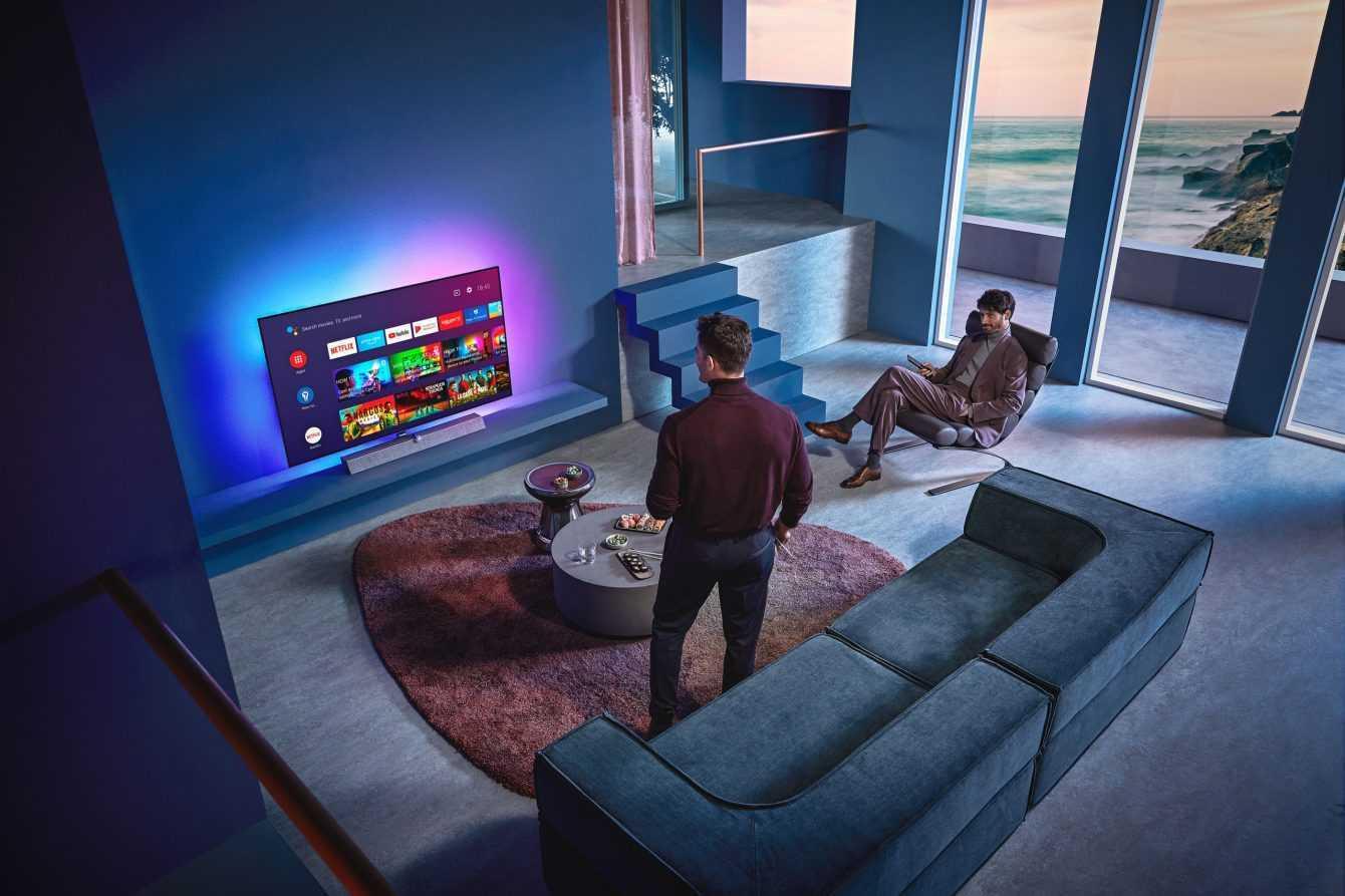 Philips OLED + 935: TV OLED top con soundbar Bowers&Wilkins