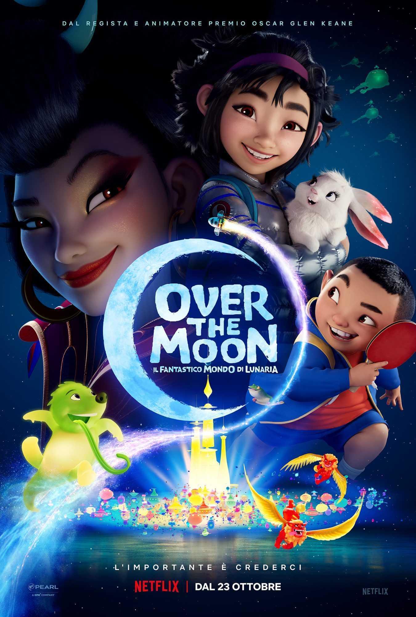 Over the Moon- Il fantastico mondo di Lunaria, in arrivo su Netflix