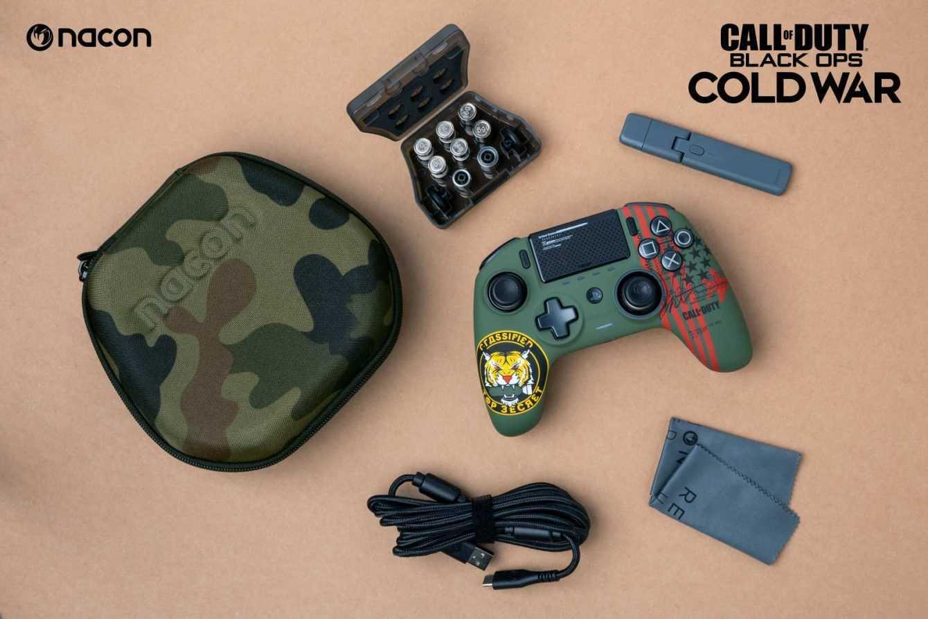 NACON: ecco il nuovo controller dedicato a Call of Duty: Black Ops Cold War