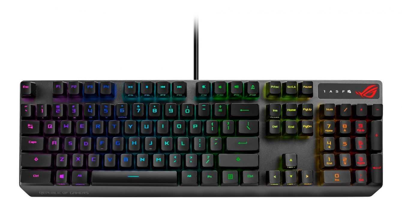ASUS ROG: nuovi monitor gaming e accessori