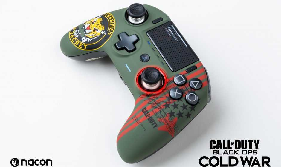 Nacon: disponibile il nuovo REVOLUTION Unlimited Pro Controller – CoD: Black Ops Cold War