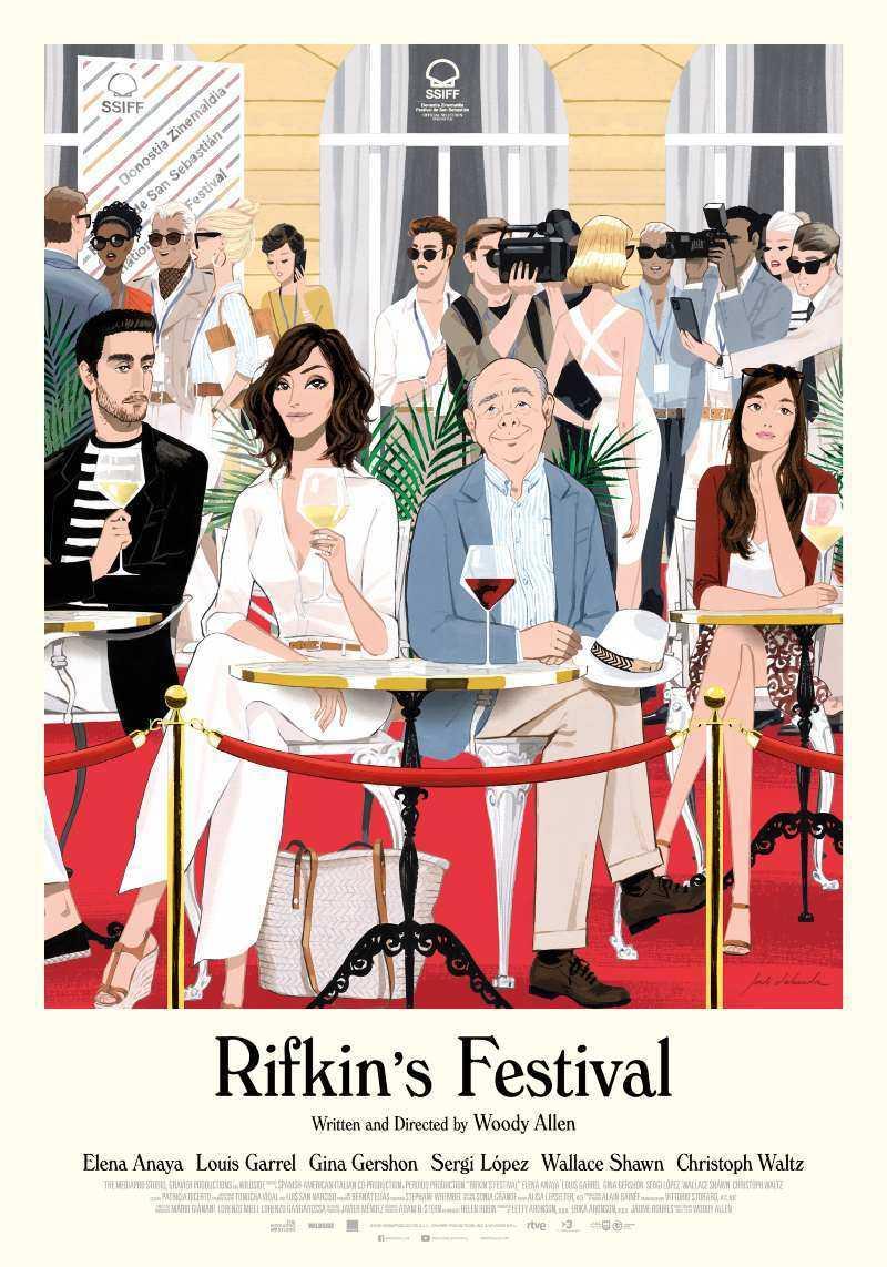 Woody Allen: online il poster del nuovo film Rifkin's Festival