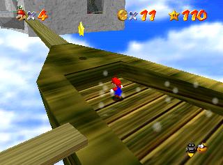 Super Mario 64: dove trovare le Stelle nel Cammino Arcobaleno