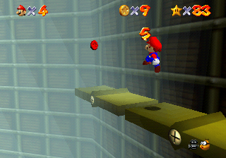 Super Mario 64: dove trovare le Stelle nel Pendolo Tictoccato
