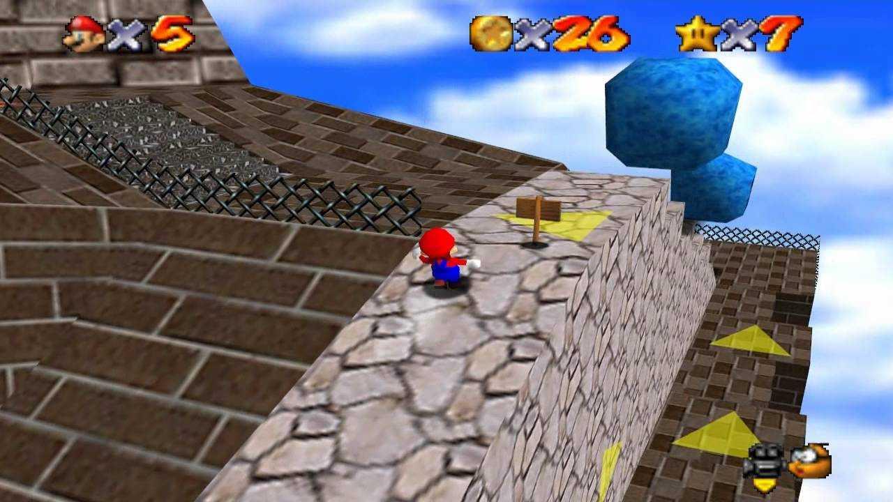 Super Mario 64: dove trovare tutte le stelle nella Fortezza dei Whomp