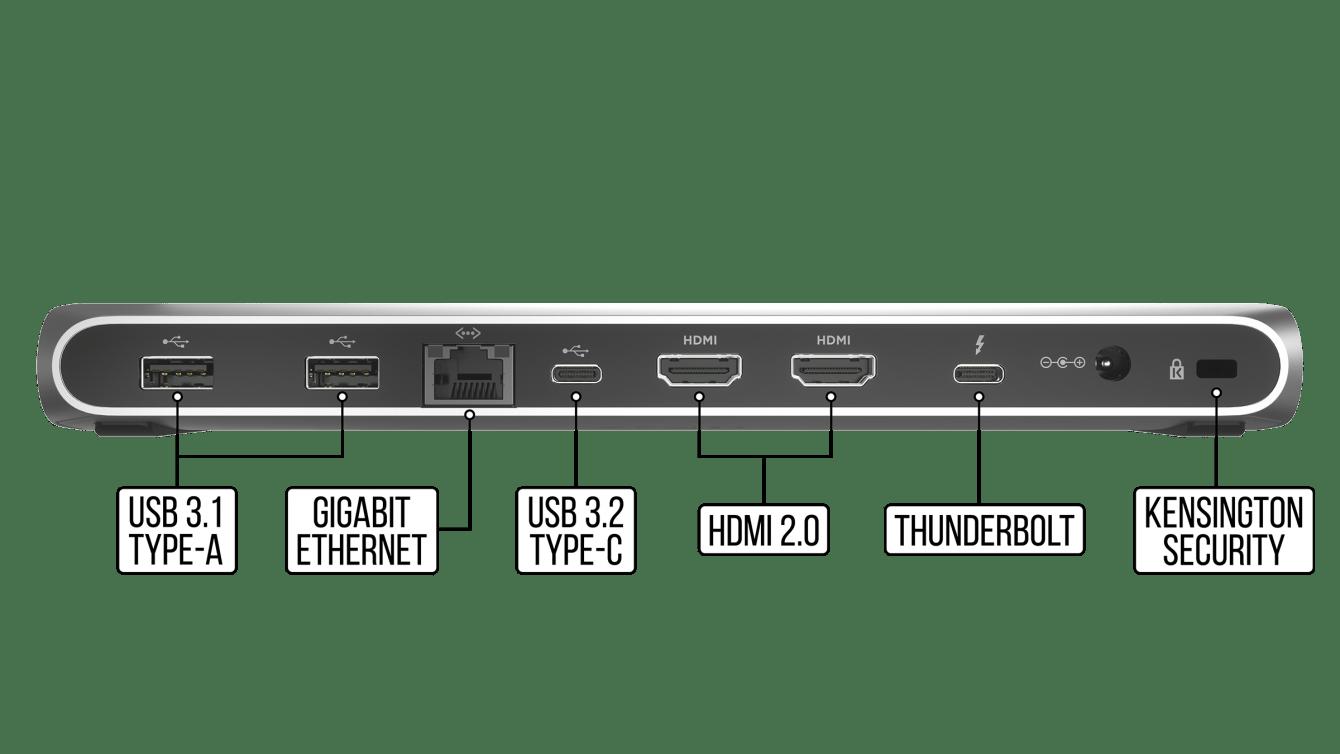 CORSAIR TBT100: dock completa e professionale con Thunderbolt 3