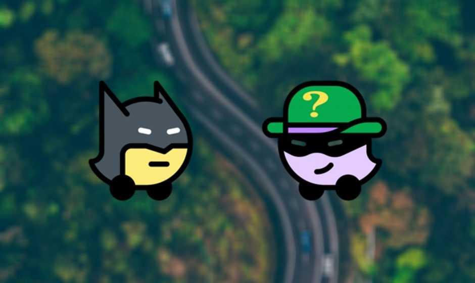 Batman e L'Enigmista arrivano su Waze