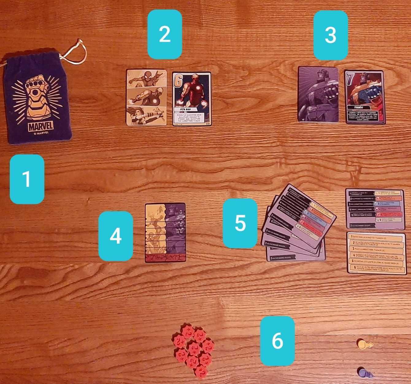 Recensione Il Guanto dell'Infinito: un gioco Love Letter