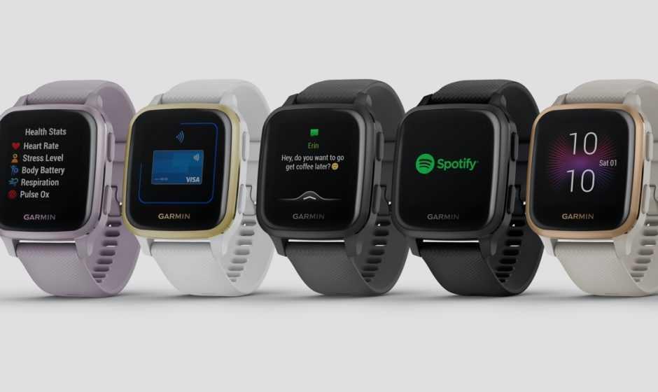 Smartwatch Garmin Venu Sq e Venu Sq Music Edition: benessere con stile