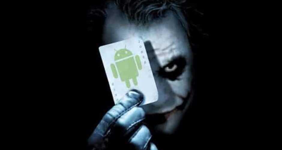 Joker: 17 app infette nello Store di Google