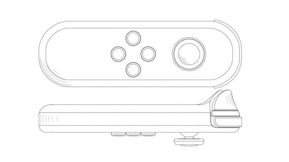 Switch: spunta il brevetto di un Joy-Con singolo standalone