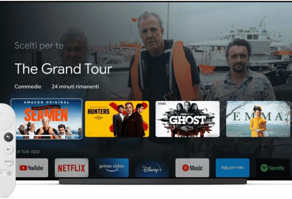 Evento Google 2020: ufficiali Google TV e Nest Audio