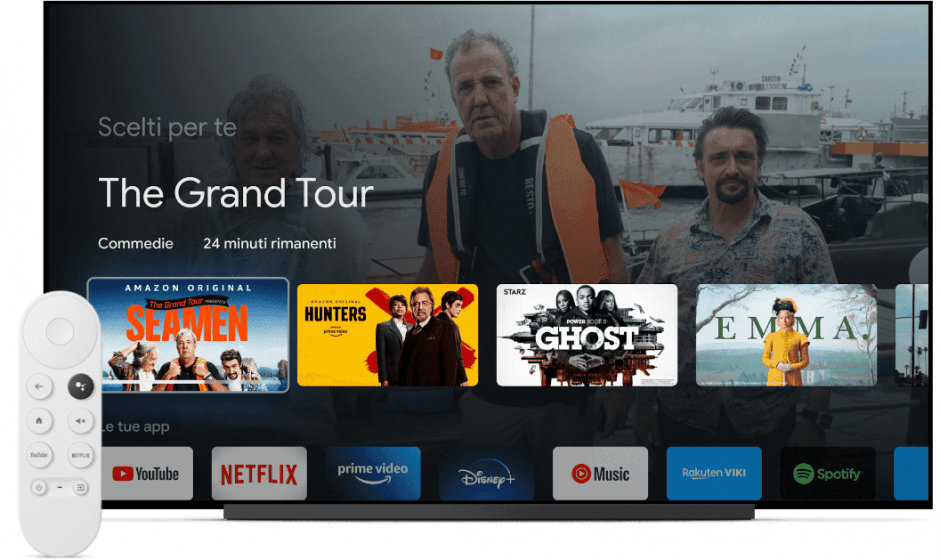 Evento Google 2020: ufficiali Google TV e Nest Audio