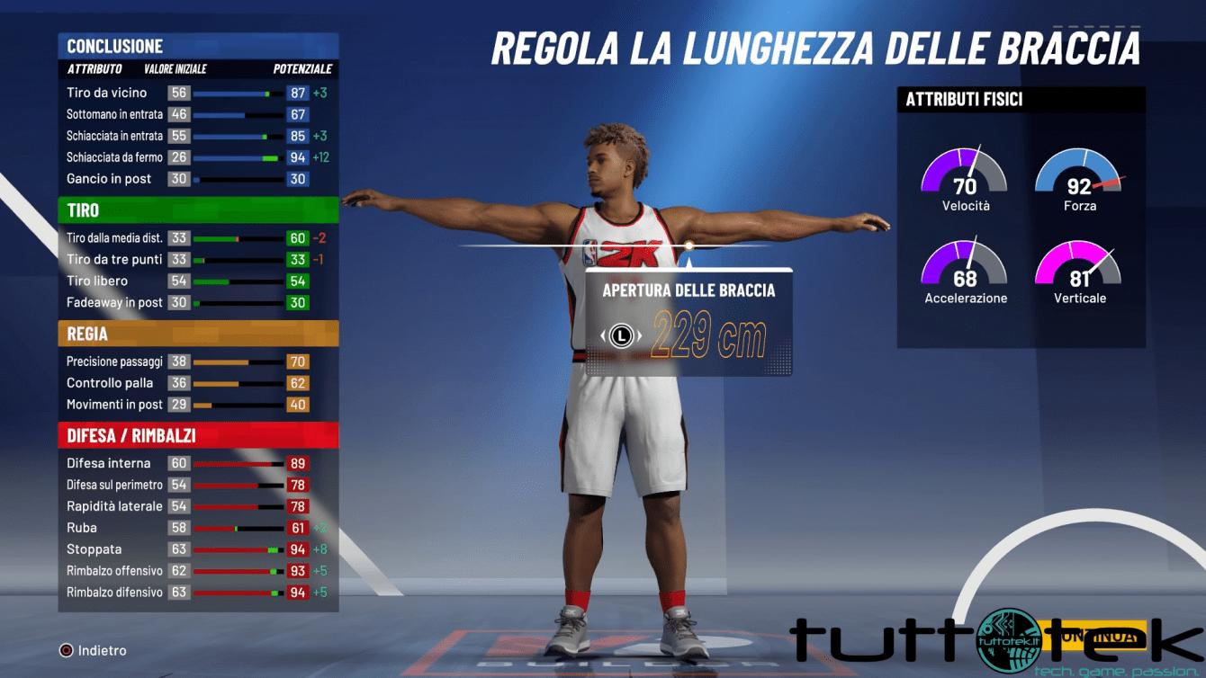 NBA 2K21: guida alla migliore build da Centro/Ala Grande